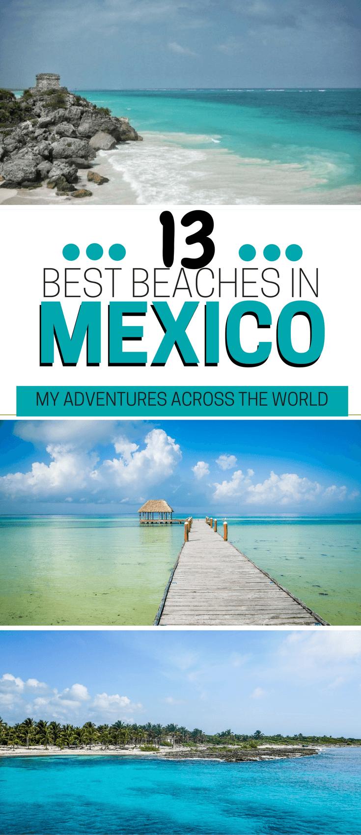Enjoy the best beaches in Mexico - via @clautavani