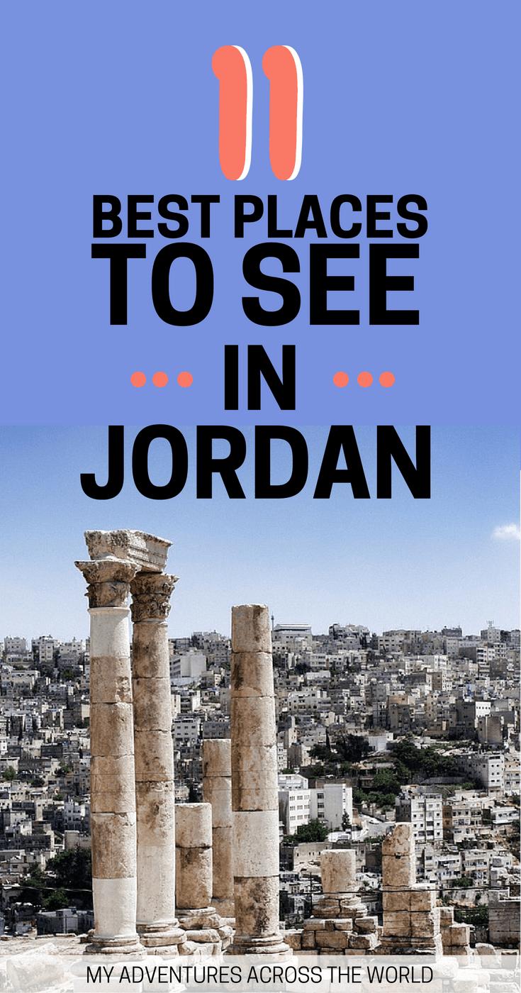 Find out the coolest places to visit in Jordan - via @clautavani