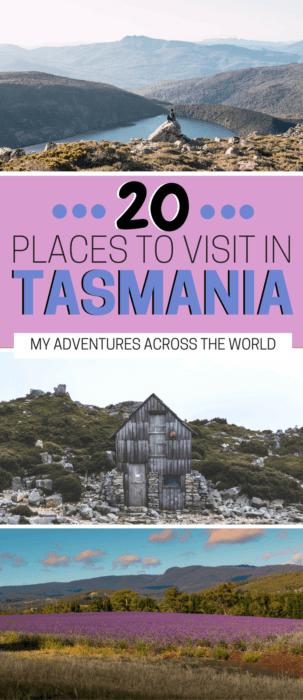 Discover 20 places to visit in Tasmania - via @clautavani