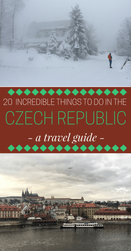 Learn about the things to do in the Czech Republic in the winter - via @clautavani