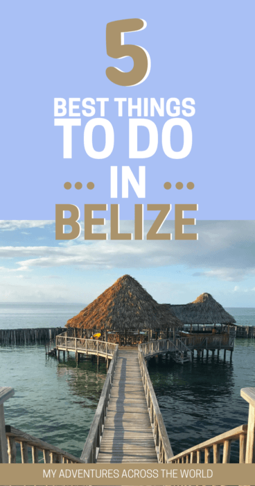 Learn about the things to do in Belize