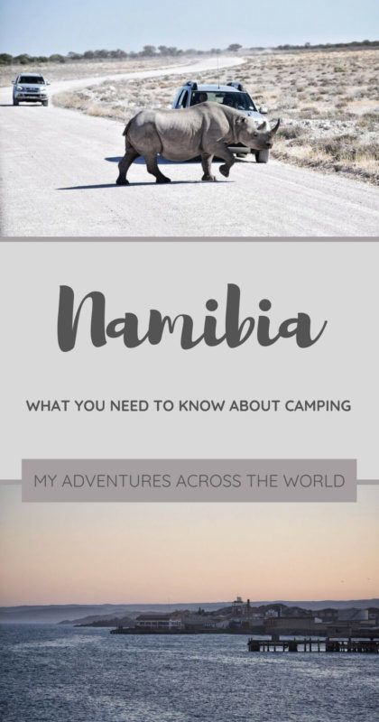 Find out all there is to know about camping in Namibia - via @clautavani