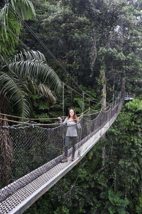 hiking in Guyana
